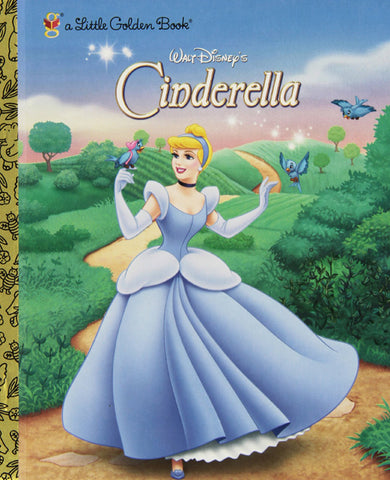 GOLDEN BOOKS - Walt Disney's Cinderella