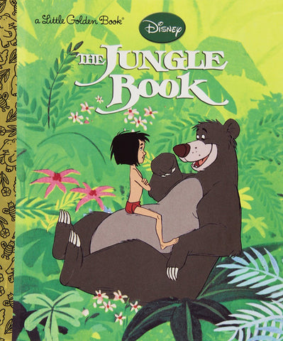 GOLDEN BOOKS -The Jungle Book