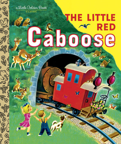 GOLDEN BOOKS - The Little Red Caboose