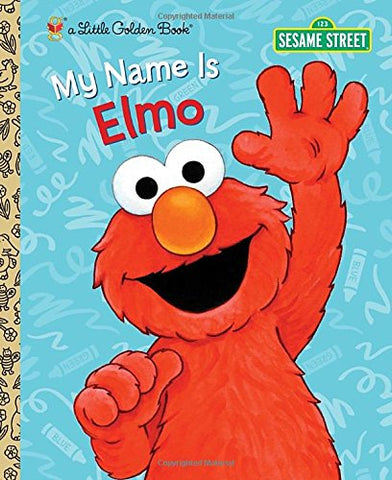 GOLDEN BOOKS - My Name Is Elmo (Sesame Street)