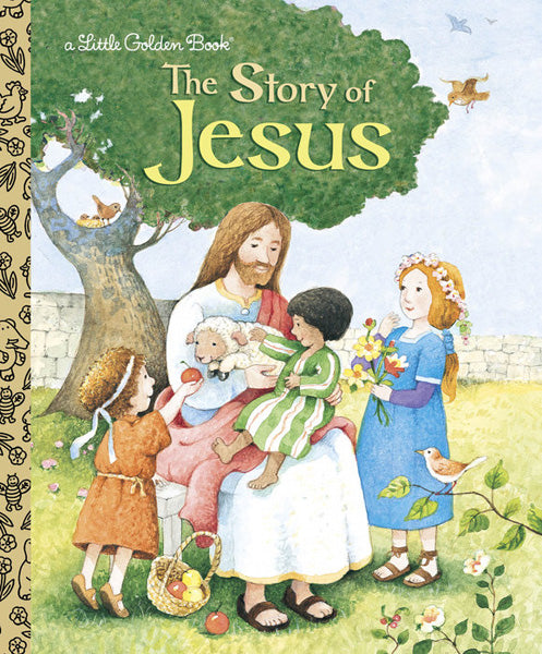 GOLDEN BOOKS - The Story of Jesus