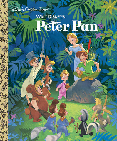 GOLDEN BOOKS - Walt Disney's Peter Pan
