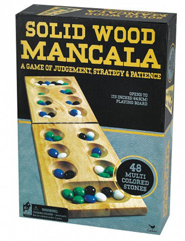 CARDINAL INDUSTRIES - Solid Wood Mancala
