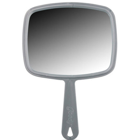 "GOODY - 11"" Large Hand Mirror with Handle"