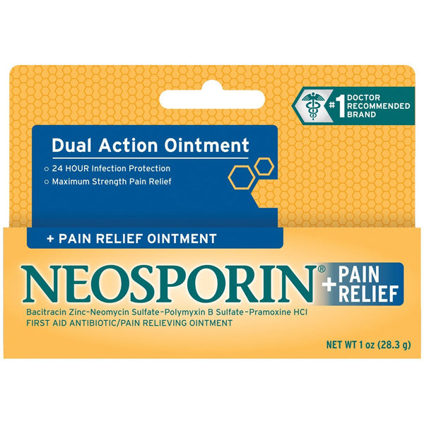 NEOSPORIN - Maximum Strength + Pain Relief Ointment