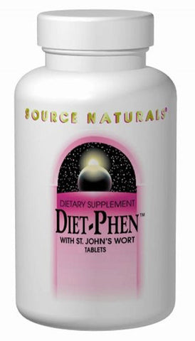 Source Naturals Diet Phen 814 mg classic label