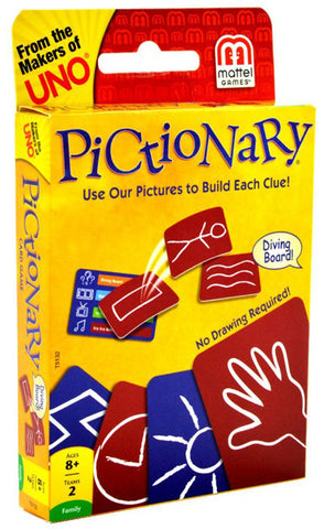 MATTEL - Pictionary Card