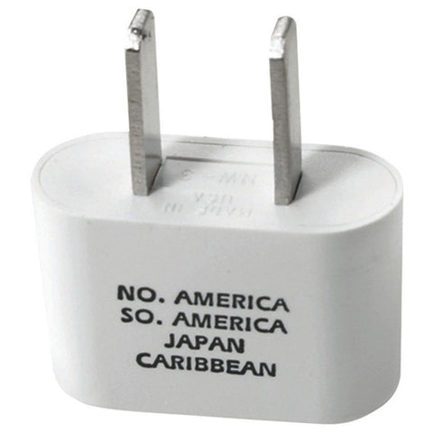 TRAVEL SMART - Flat Foreign Adapter Plug