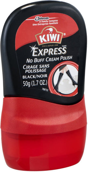 KIWI - Express No Buff Cream Polish Black