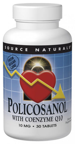 Source Naturals Policosanol with Coenzyme Q10