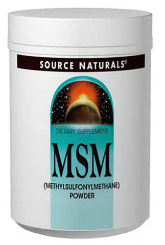 Source Naturals MSM 2 6 g Powder
