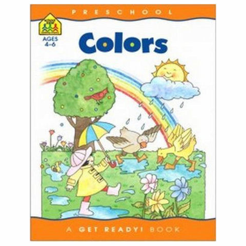 SCHOOL ZONE - Workbook Colors Preschool Get Ready Books