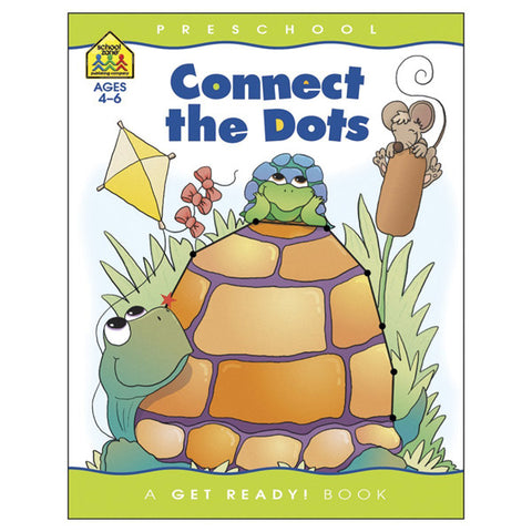 SCHOOL ZONE - Preschool Workbooks Connect The Dots