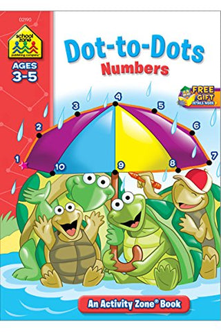 SCHOOL ZONE - Dot-to-Dots Numbers Activity Zone