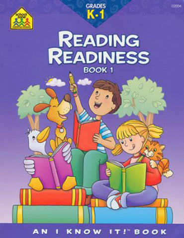 SCHOOL ZONE - Reading Readiness K-1 Book 1 Workbook