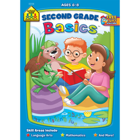 SCHOOL ZONE - Second Grade Basics Workbook