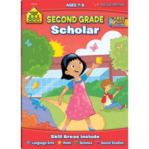 SCHOOL ZONE - Second Grade Scholar Workbook