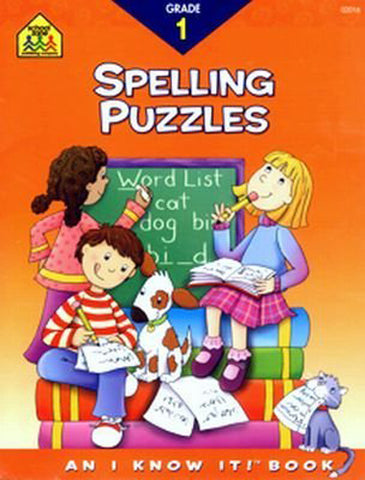 SCHOOL ZONE - Spelling Puzzles 1 Workbook