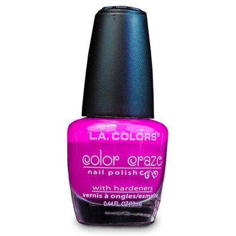 L.A. COLORS - Color Craze Nail Polish CNP511 Electra