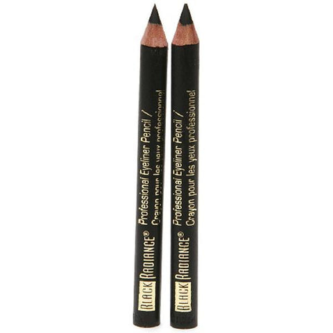 BLACK RADIANCE - Twin Eyeliner Pencil 6503 Truly Black