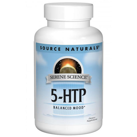 SOURCE NATURALS - Serene Science 5-HTP 50 mg