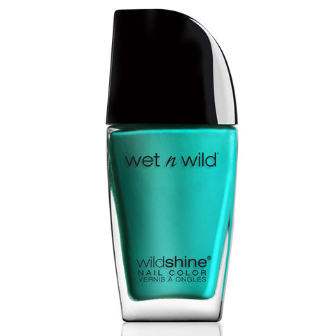 WET N WILD - Wild Shine Nail Color #483D Be More Pacific