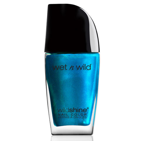 WET N WILD - Wild Shine Nail Color #480D Bijou Blue