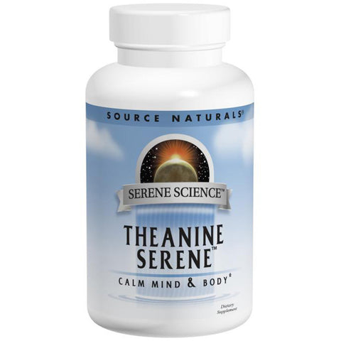 SOURCE NATURALS - Serene Science Theanine Serene