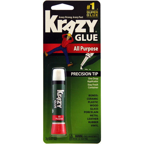KRAZY - Instant Krazy Glue All Purpose Tube