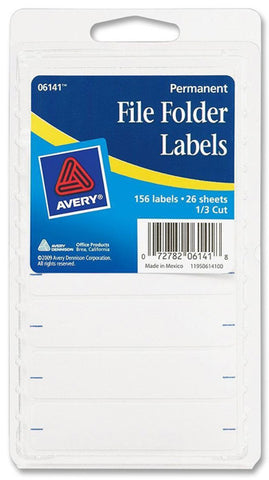 AVERY - Products File Folder Labels White