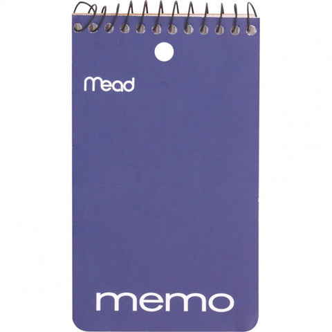 MEAD - College Ruled Memo Book Spiral 3 In. x 5 In.