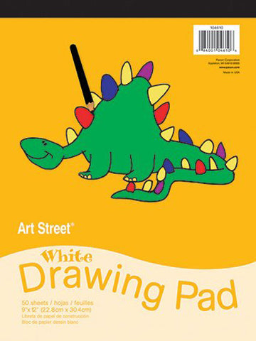 PACON - White Drawing Pad