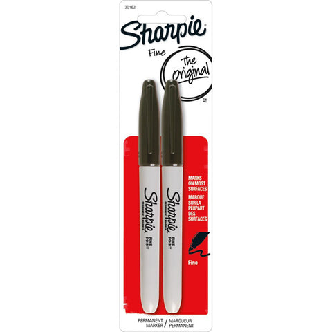 SHARPIE - Permanent Markers Fine Point Black