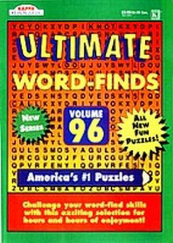 KAPPA - Ultimate Word Finds Book