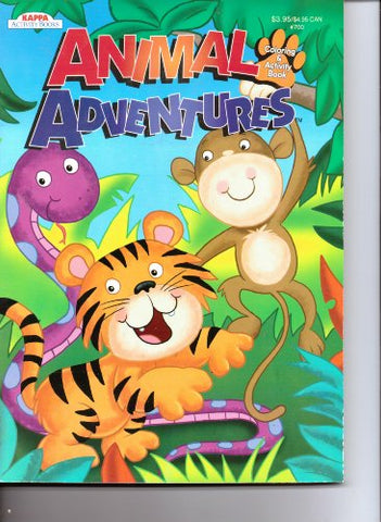 KAPPA - Animal Adventures Coloring & Activity Book
