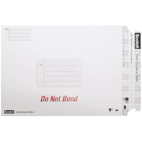 SCOTCH - Photo Document Mailer White