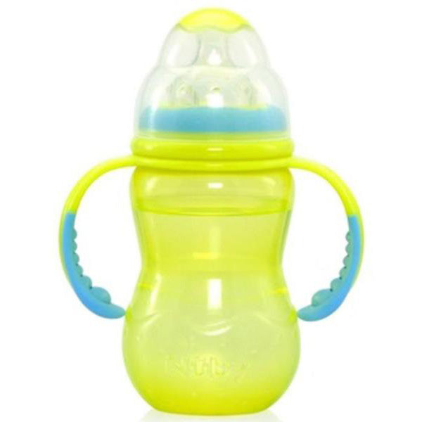 NUBY - Bpa Free Non-Drip Baby Bottle with Handle