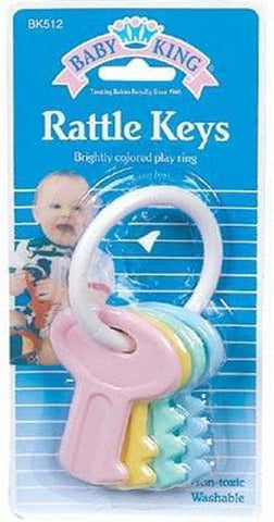 BABY KING - Bulk Buys Baby Rattle Keys