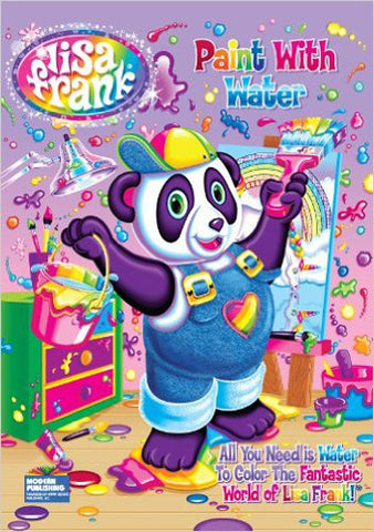 KAPPA - Lisa Frank Paint with Water Book