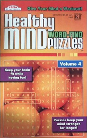 KAPPA - Healthy Mind Word-Find Puzzles Book