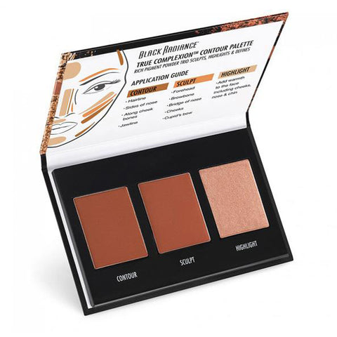 BLACK RADIANCE - True Complexion Contour Palette Light To Medium