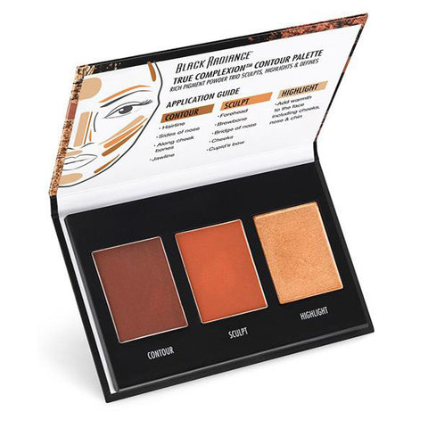 BLACK RADIANCE - True Complexion Contour Palette Medium To Dark