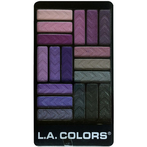 LA COLORS - 18 Color Eyeshadow Palette Strange Love