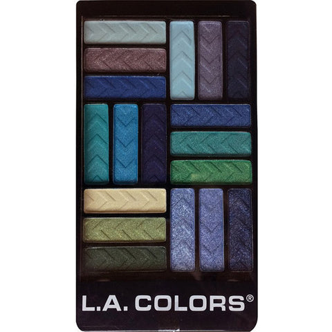 LA COLORS - 18 Color Eyeshadow Palette Shady Lady