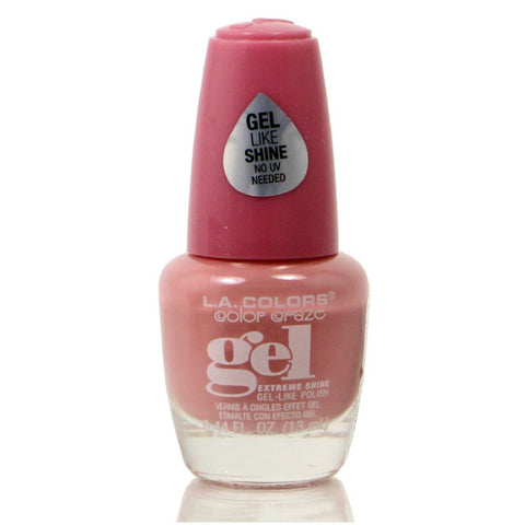 LA COLORS - Color Craze Extreme Shine Gel Polish Mademoiselle