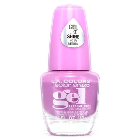 LA COLORS - Color Craze Extreme Shine Gel Polish Damsel