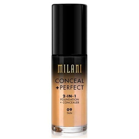 MILANI - Conceal + Perfect 2-in-1 Foundation Concealer Tan