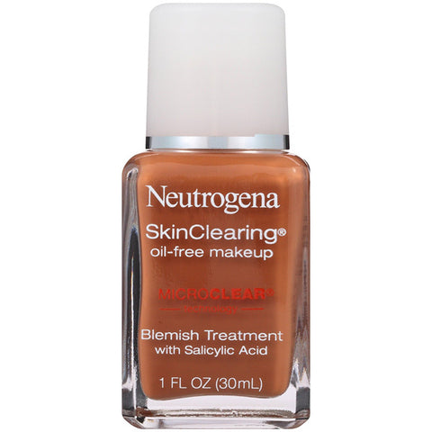 NEUTROGENA - SkinClearing Oil-Free Liquid Makeup Chestnut