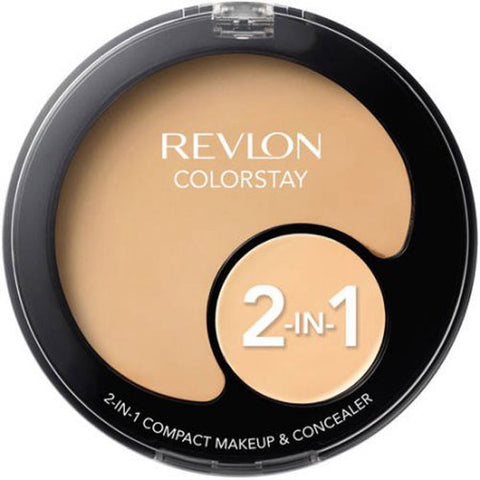 REVLON - ColorStay 2-in-1 Compact Makeup & Concealer Buff