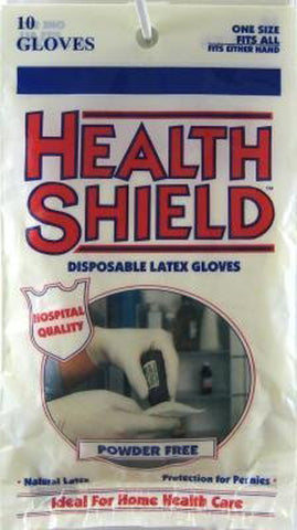 GLOVE - Health Shield Latex Gloves